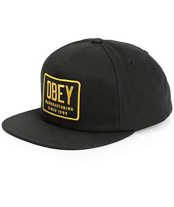 Obey Industrial Snapback Hat