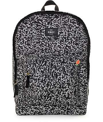 Obey Javor Black Backpack