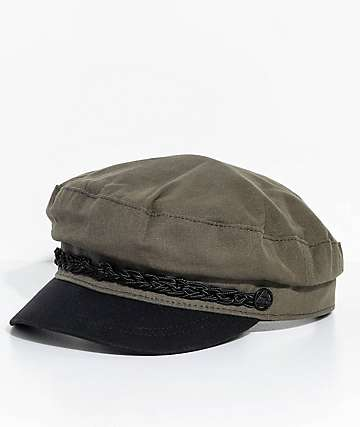 Obey Jaxon Dark Olive Conductors Hat