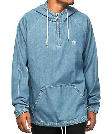Obey Jungle Denim Anorak Jacket