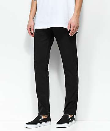 Obey Juvee II Black Denim Jeans
