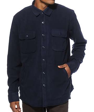 Obey Lafayette Long Sleeve Button Up Shirt