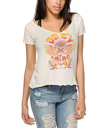 Obey Levitation V-Neck T-Shirt
