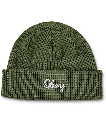 Obey Lionel Army Beanie