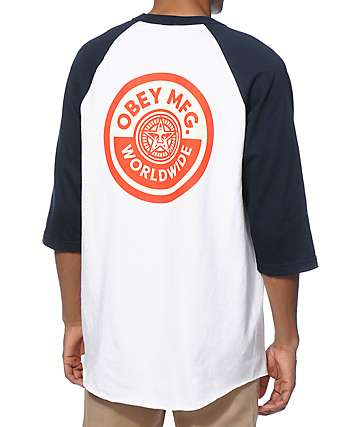 Obey MFG Baseball T-Shirt