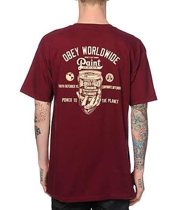 Obey Make It Black T-Shirt