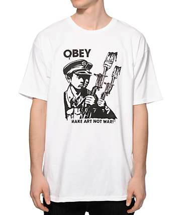 Obey Make It Black T-Shirt