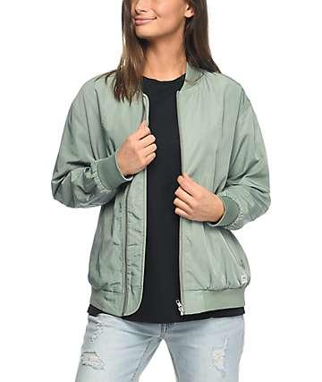 Obey Mako chaqueta bomber en verde