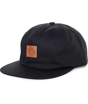 Obey Mega Black Strapback Hat