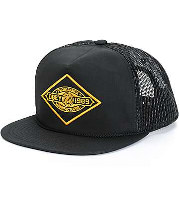 Obey Mining Trucker Hat