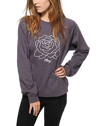 Obey Mira Mosa Crew Neck Sweatshirt