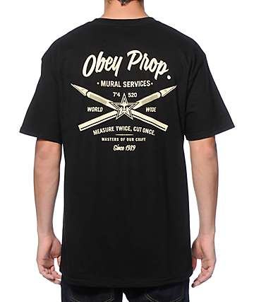 Obey Mural Services T-Shirt