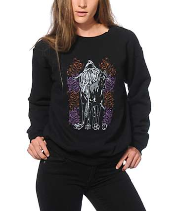 Obey Mystic Mountain Crew Neck Sweatshirt