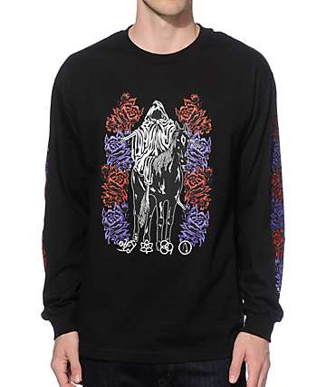 Obey Mystic Mountain Long Sleeve T-Shirt
