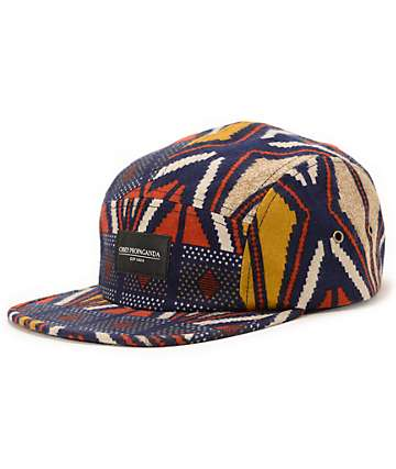Obey Nation Navy 5 Panel Hat