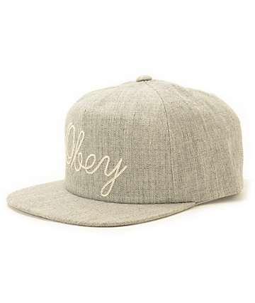 Obey Needle Strapback Hat
