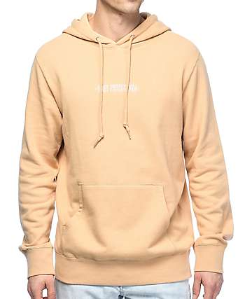 Obey New New Times Khaki Hoodie
