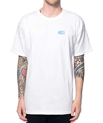 Obey New Times White T-Shirt