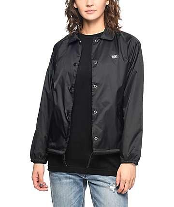 Obey New Times chaqueta entrenador en negro
