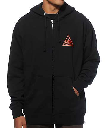 Obey Next Round Zip Up Hoodie