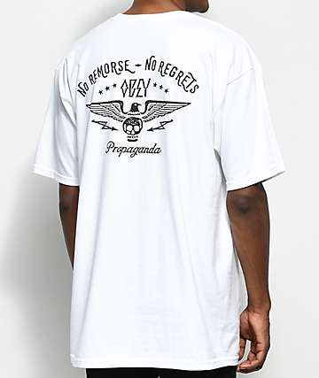 Obey No Remorse White T-Shirt