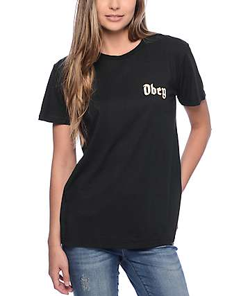 Obey Ole Black T-Shirt