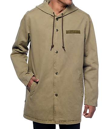 Obey Overnight Stadium Army Parka Jacket
