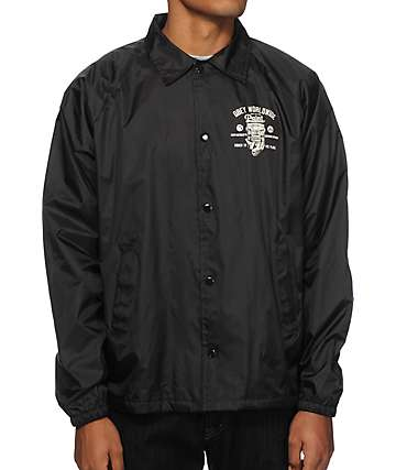 Obey Paint It Black Coach Jacket