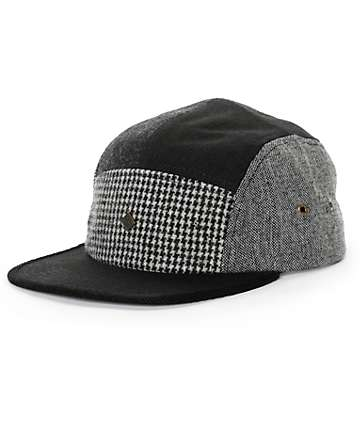 Obey Patchwork 5 Panel Hat