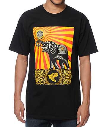 Obey Peace Elephant camiseta