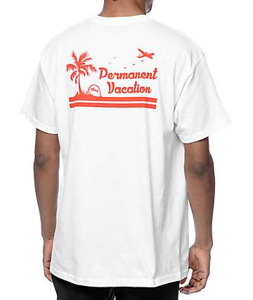 Obey Permanent Vacation White T-Shirt
