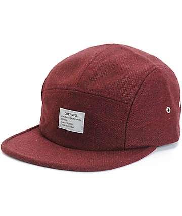 Obey Premier 5 Panel Hat