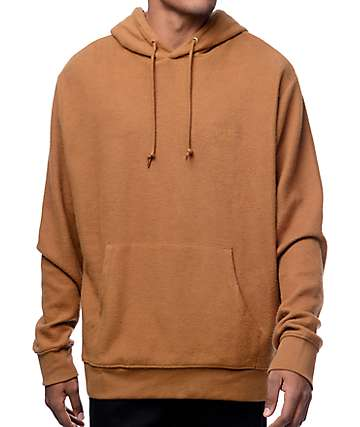 Obey Prospect Brown Hoodie