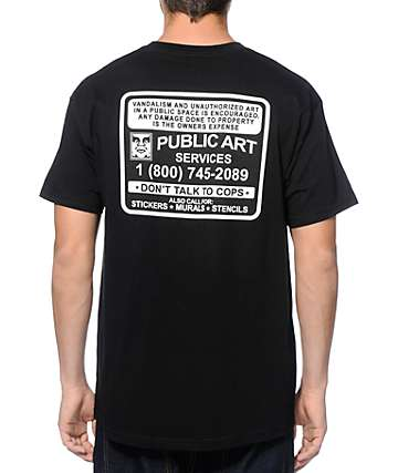 Obey Public Art Services T-Shirt