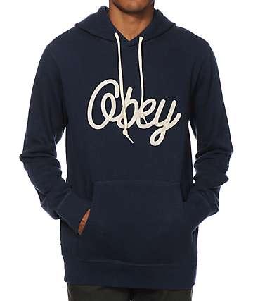 Obey Return Script Hoodie