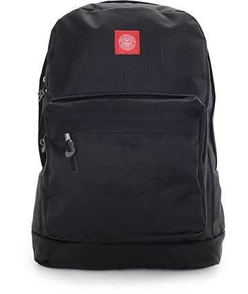 Obey Revolt Red Juvee Black Backpack