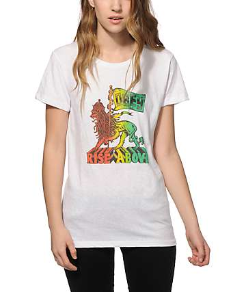 Obey Rise Above Babylon T-Shirt