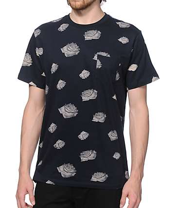 Obey Roses Pocket T-Shirt