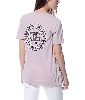 Obey Rue De La Ruine Dust T-Shirt