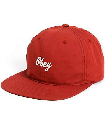 Obey Ryan Strapback Hat