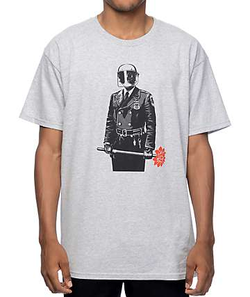 Obey Sadistic Florist Heather Grey T-Shirt