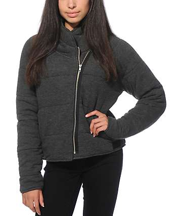 Obey Sierra Quilted Wrap Jacket
