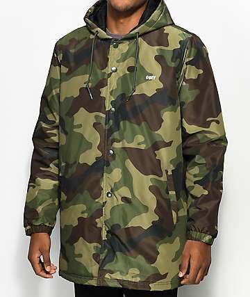 Obey Singford Stadium chaqueta camuflada