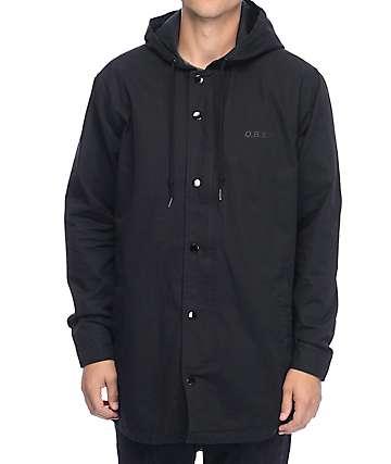 Obey Slugger Black Parka Jacket