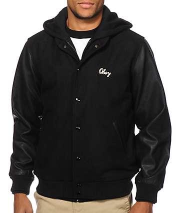 Obey Soto Hooded Varsity Jacket