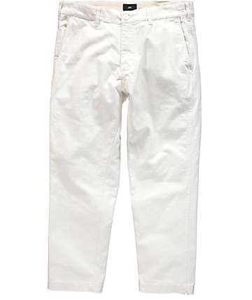 Obey Straggler Carpenter II White Pants