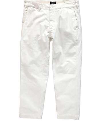 Obey Straggler Carpenter II pantalones blancos