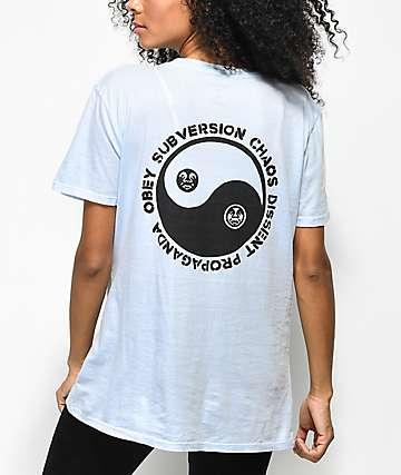 Obey Subversion Ill camiseta azul