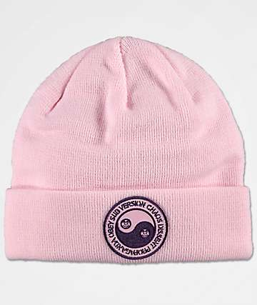 Obey Subversion gorro rosa