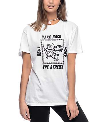 Obey Take Back The Streets White T-Shirt